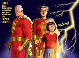 TLIID Shazam Captain Marvel 2049 by Nick-Perks