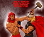 TLIID - THOR versus... Jack Kirby's Atlas!