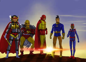 TLIID Other Justice Leagues - Kirby Characters by Nick-Perks