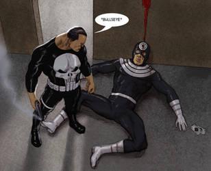 TLIID - The Punisher kills... Bullseye! by Nick-Perks