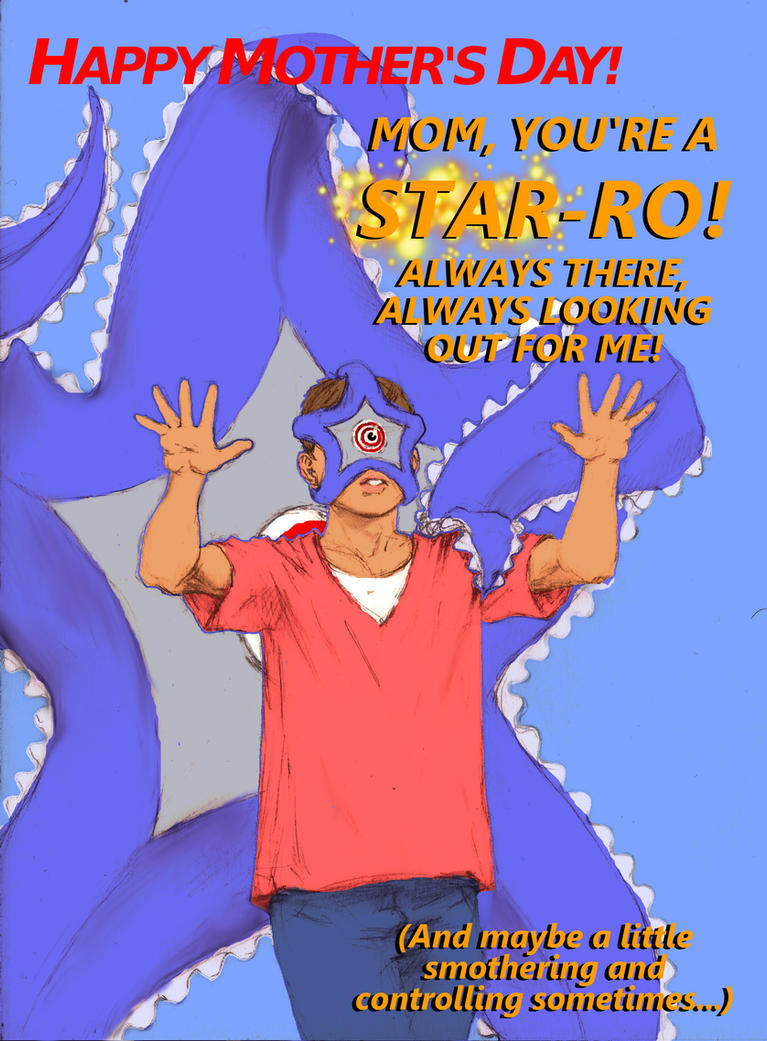 TLIID - Comicbook Mother's Day card from - Starro! by Nick-Perks
