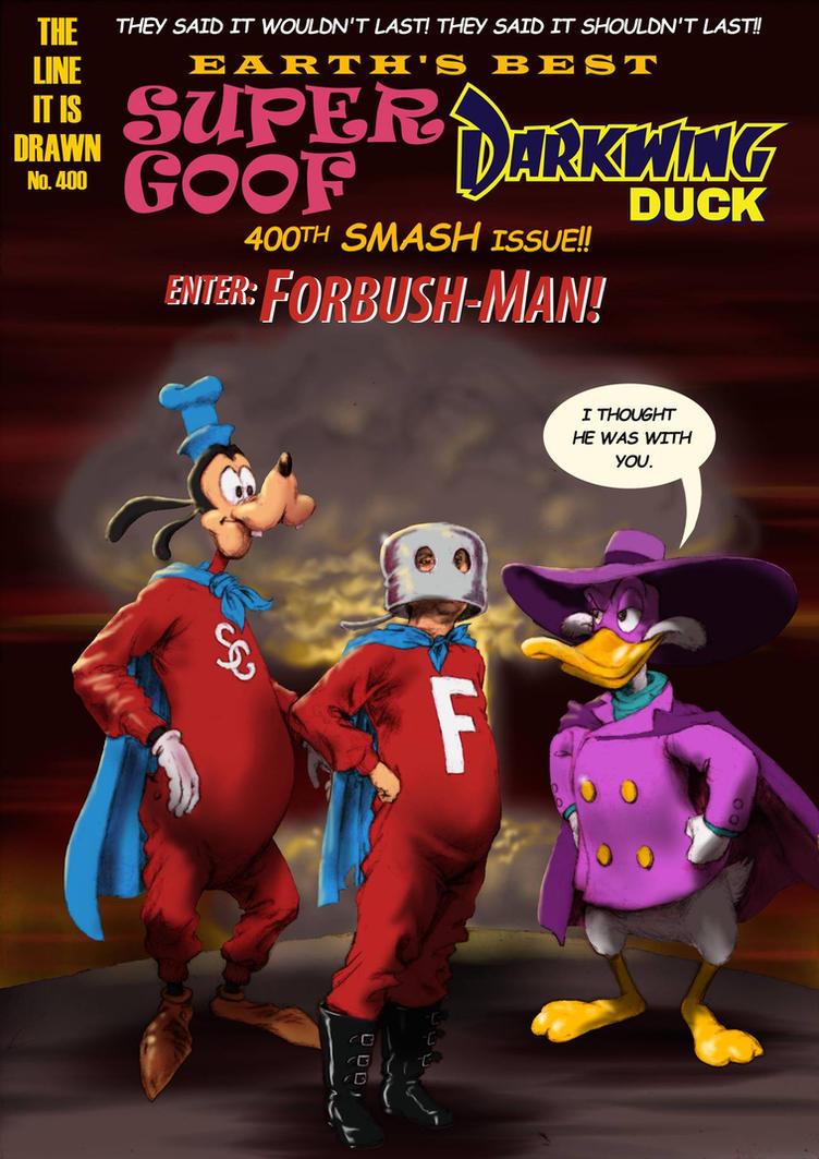 TLIID 400 Disney/Marvel - Super Goof/Forbush-Man by Nick-Perks