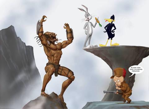 TLIID The Predator vs Elmer Fudd - and friends