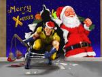 A Wolverine X-Mas - Slay-Bells and Santa-Claws by Nick-Perks