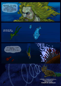 TLIID Aquaman Team-up - Godzilla - part 1