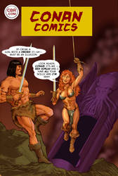 TLIID Conan on classic covers - Action Comics 252 by Nick-Perks