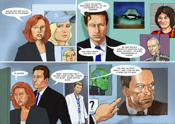 TLIID Captain Marvel meets... Mulder and Scully. by Nick-Perks