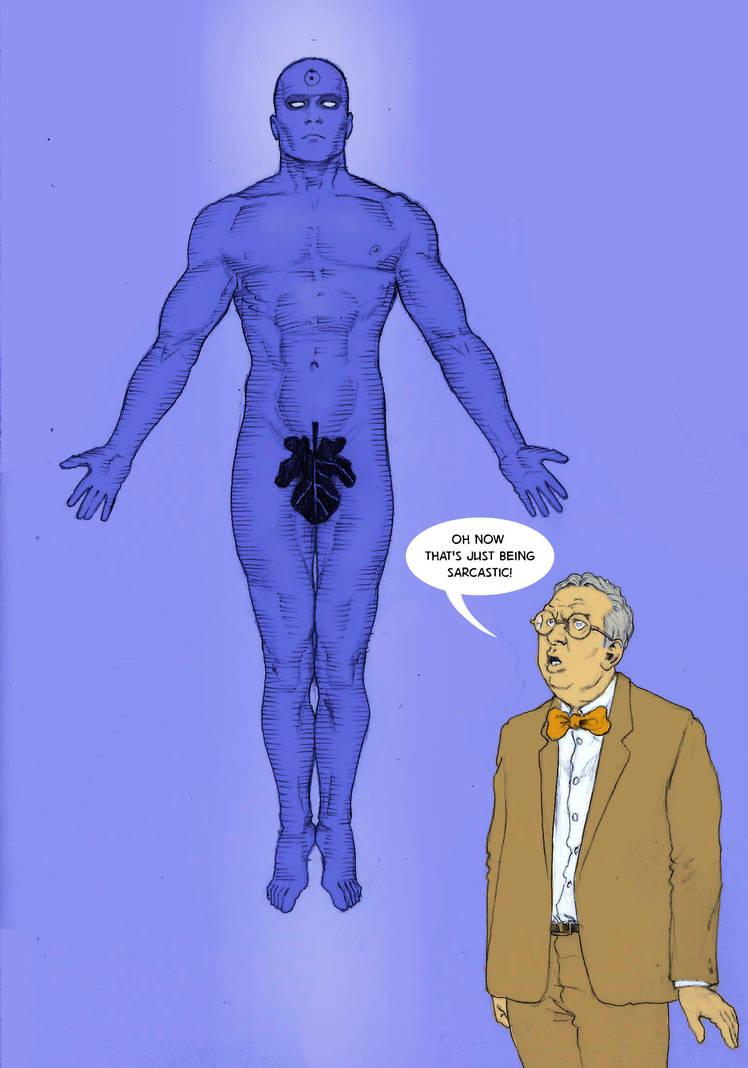 TLIID tweak - Dr. Manhattan is more modest by Nick-Perks