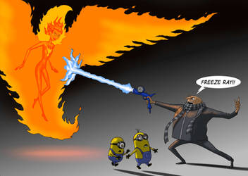 TLIID Dark Phoenix vs Gru, Despicable Me! by Nick-Perks