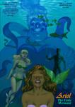 TLIID Halle Bailey's Ariel and... Namorita