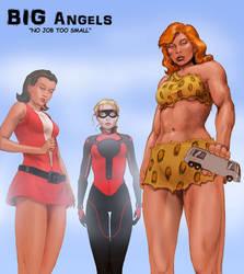 TLIID Charlie's Angels Superheroes - Giantesses