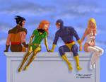 TLIID Valentine's card 2020 X-Men Love Quadrangle