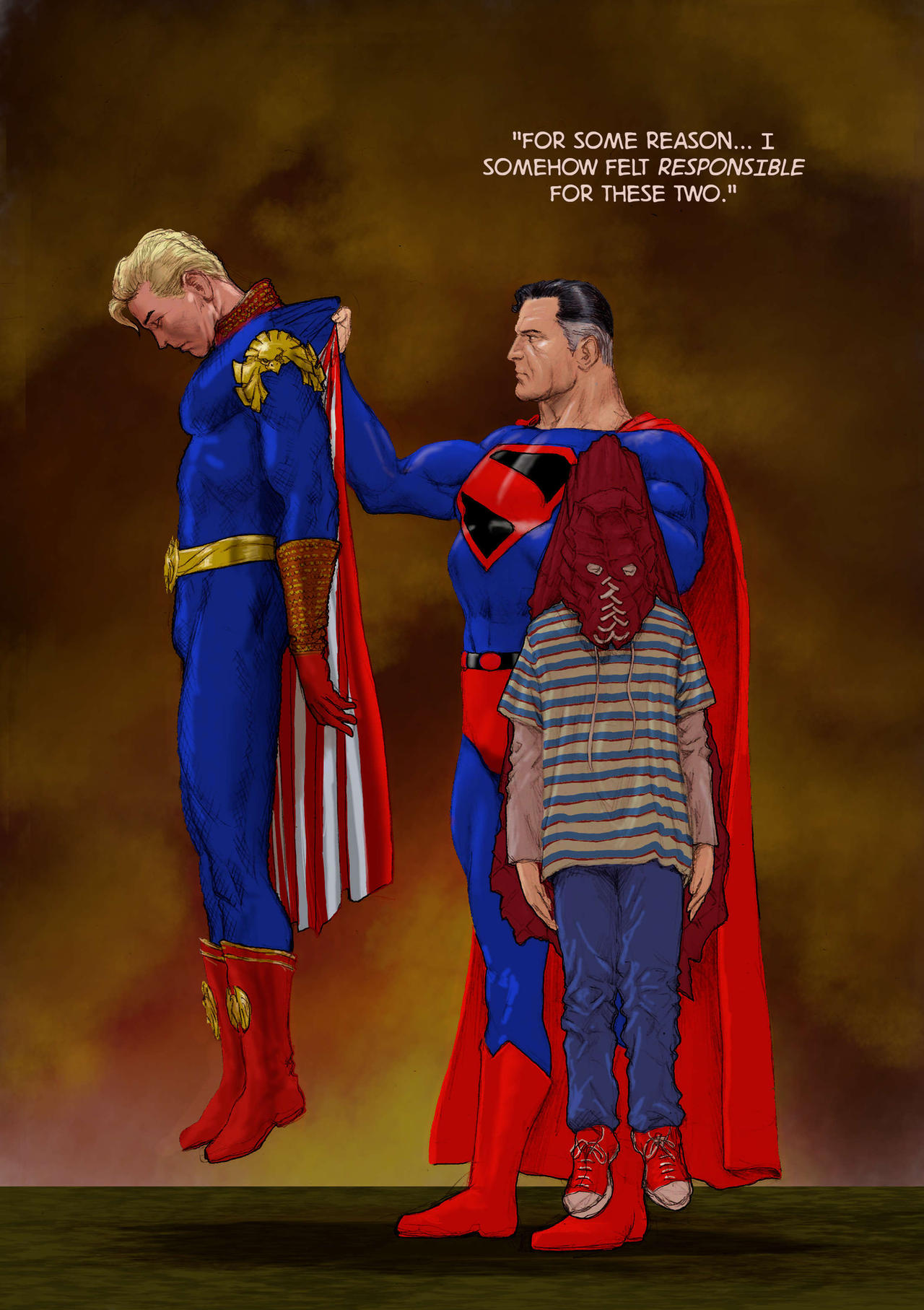 TLIID The Boys - Superman vs Homelander/Brightburn