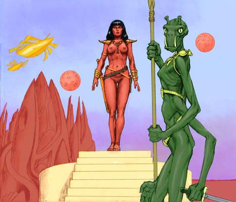 The Mars of Edgar Rice Burroughs