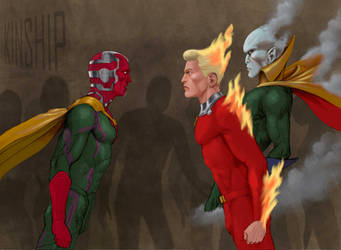 TLIID The Vision meets The Vision and Human Torch