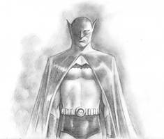 The Batman Pencil Sketch