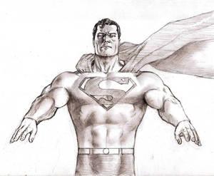 Superman Pencil Sketch