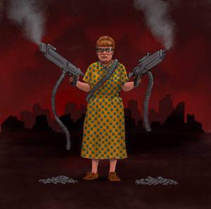 TLIID The Snyder Cut version of... Aunt Harriet