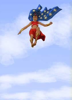 TLIID - The kid of... Superman and Wonder Woman