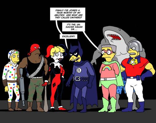 TLIID Suicide Squad Week - Mr. Burns Fruit Bat Man