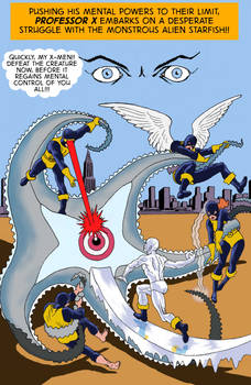TLIID What If... the X-Men fought Starro?