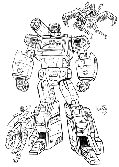 Transformers g1 soundwave by kneont on deviantart for Transformers g1 coloring pages