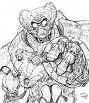 Ravager, a giant mecha