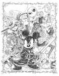 Kingdom Hearts Halloweentown