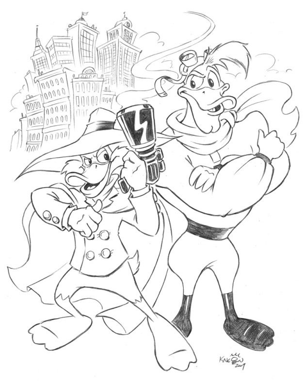 Darkwing Duck and Launchpad