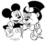 Mickey Mouse 'n Phil