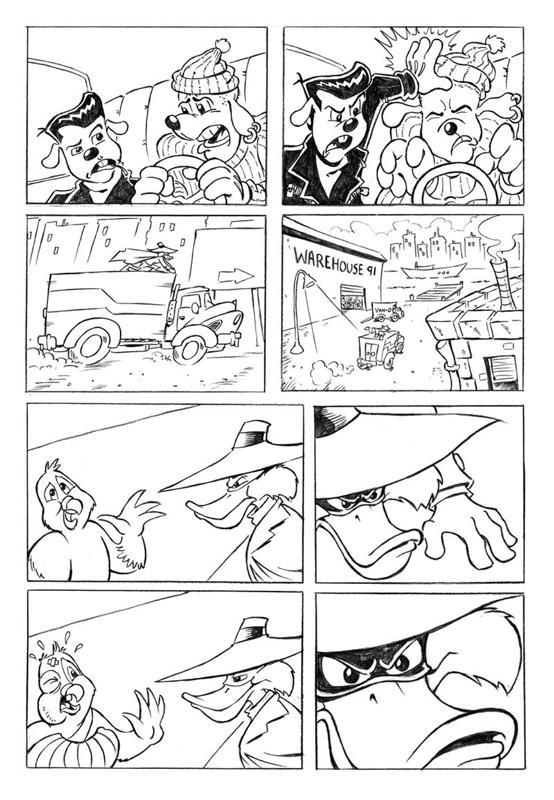 Darkwing Duck unseen comic 2