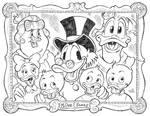 DuckTales Family Portrait