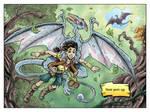Fantasy Webcomic page 1 of 19