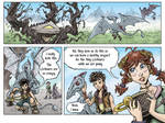 Fantasy Webcomic page 2 of 19