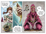 Fantasy Webcomic page 4 of 19