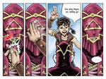 Fantasy Webcomic page 5 of 19