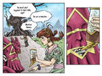 Fantasy Webcomic page 6 of 19