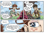 Fantasy Webcomic page 7 of 19