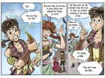 Fantasy Webcomic page 9 of 19