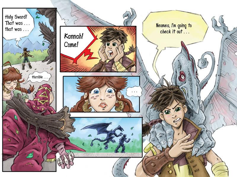 Fantasy Webcomic page 15 of 19