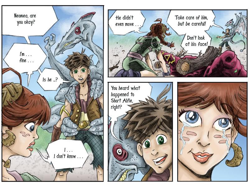 Fantasy Webcomic page 16 of 19