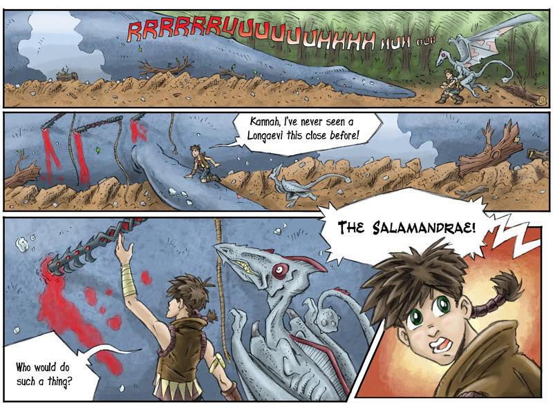Fantasy Webcomic page 18 of 19