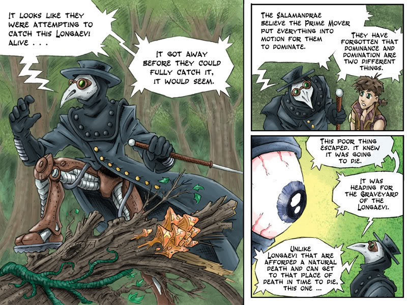 Fantasy Webcomic page 19 of 19