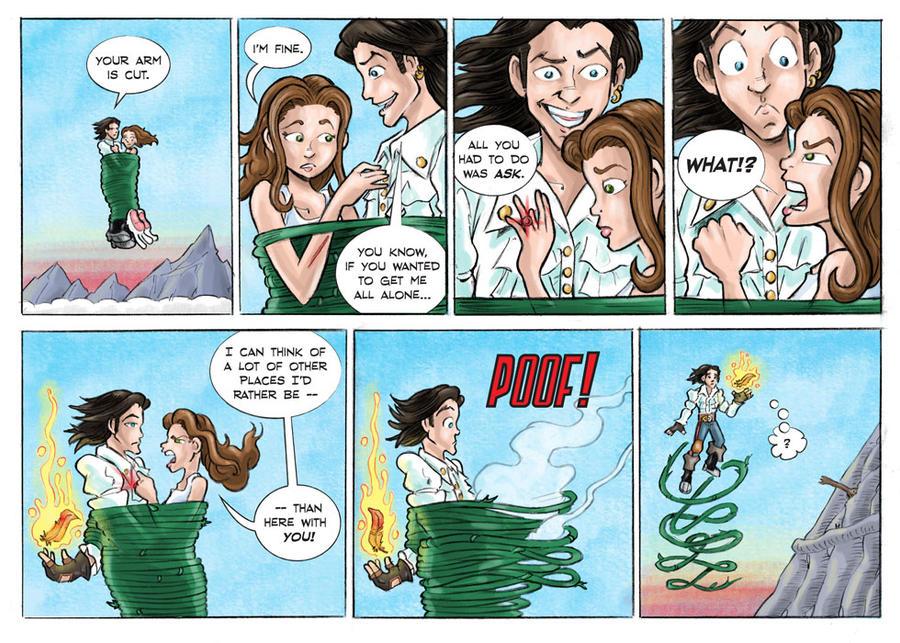 Shadowbinders webcomic page 46