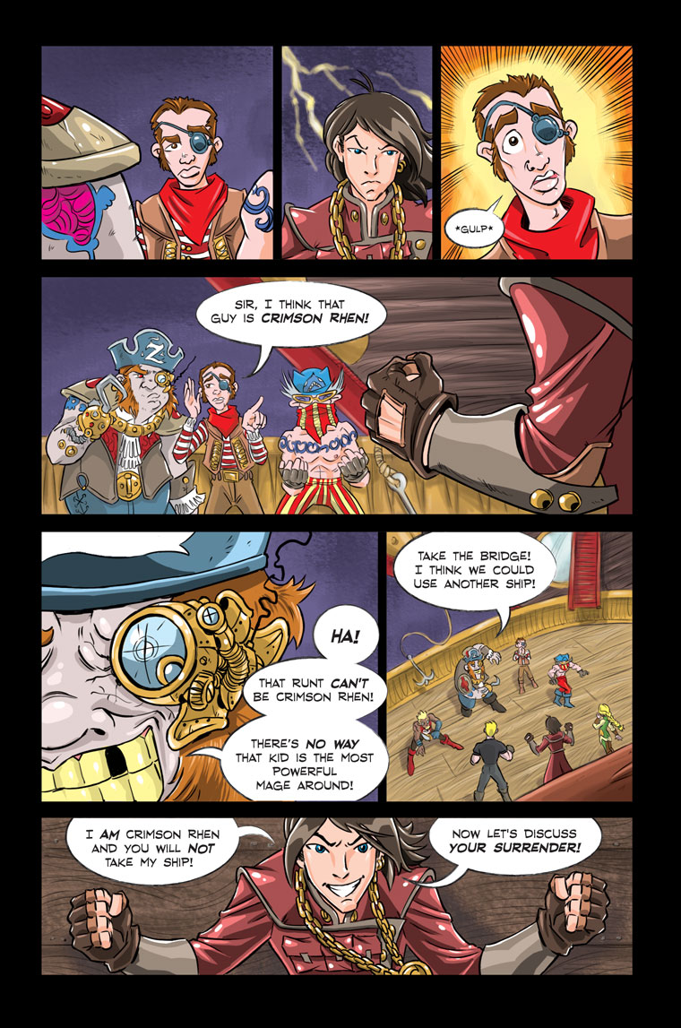 Shadowbinders Webcomic Chapter 5 Page 15