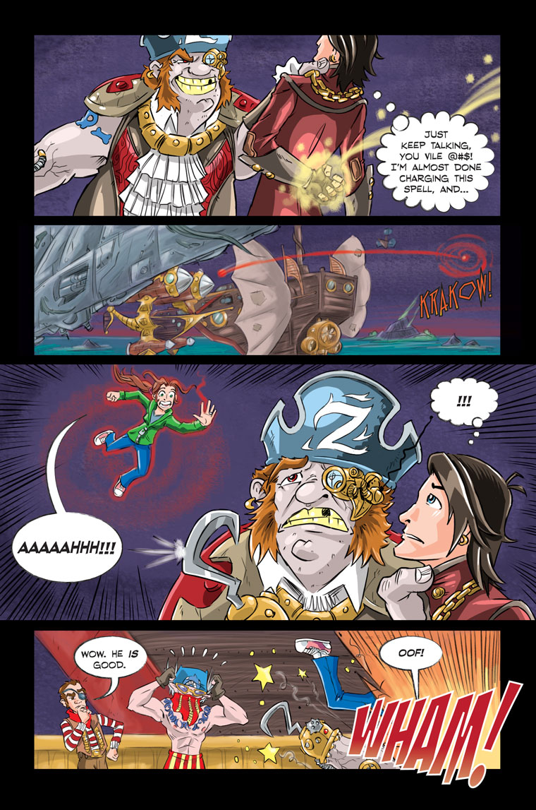 Shadowbinders Webcomic Chapter 5 Page 17
