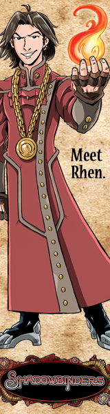 Meet Rhen | New Shadowbinders Banner Ad