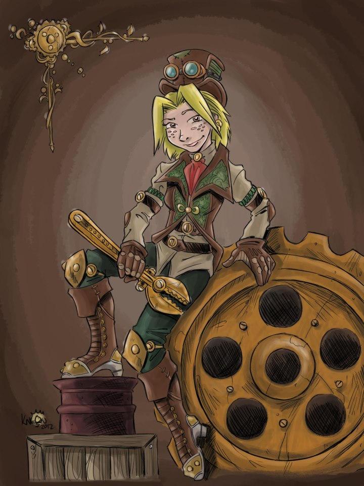 Steampunk Molly
