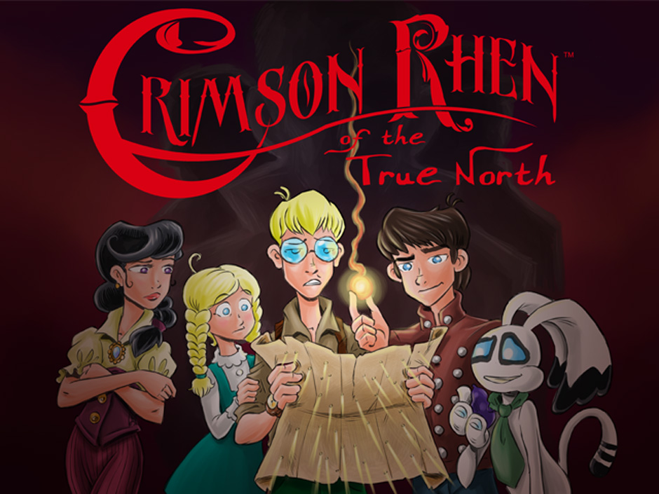 Steampunk for kids! Meet Crimson Rhen!