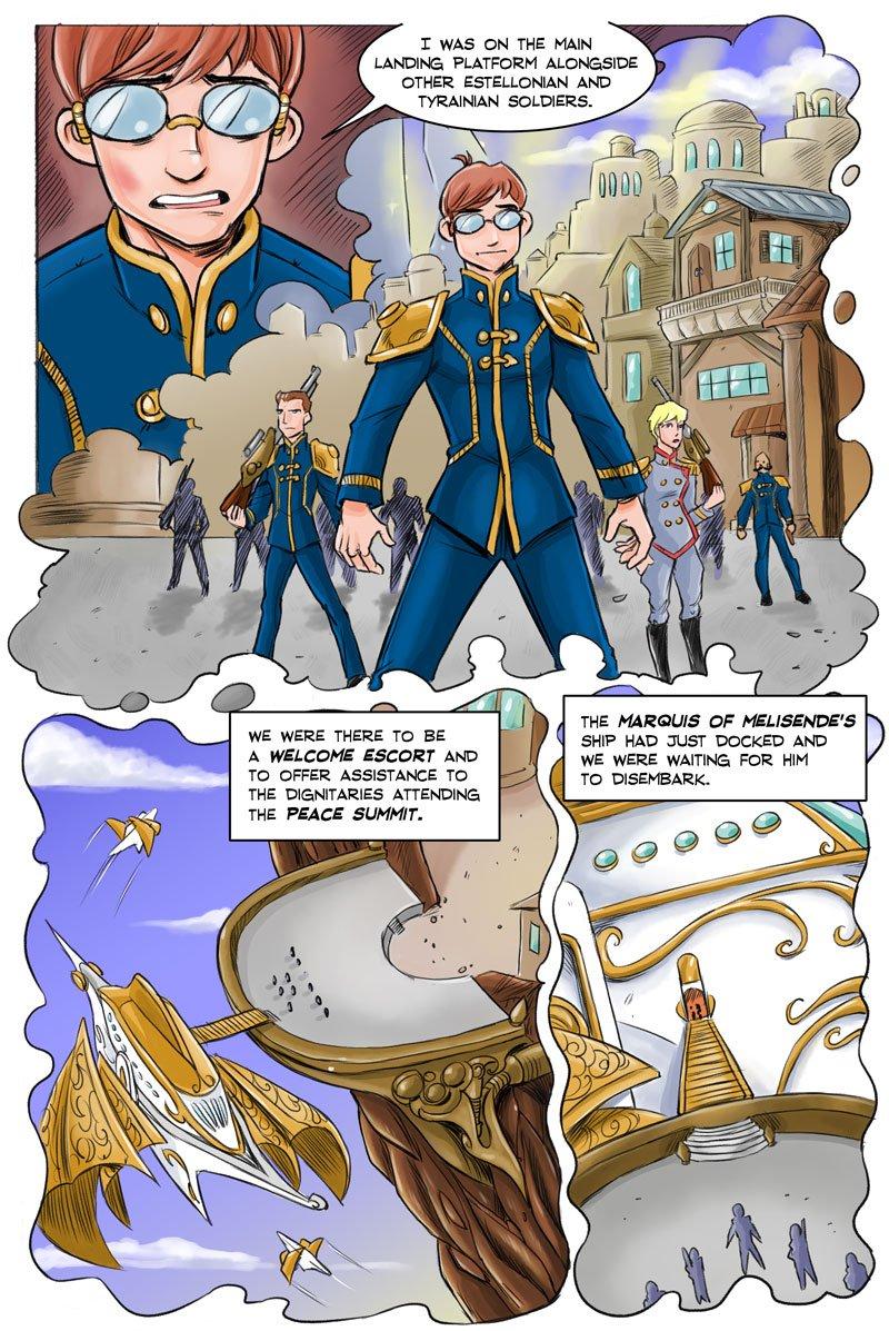Steampunk / Fantasy Webcomic